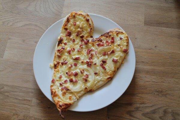 Ein ♥ für Flammkuchen