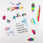 Kinder-Kunst-Magnete für den Kühlschrank
