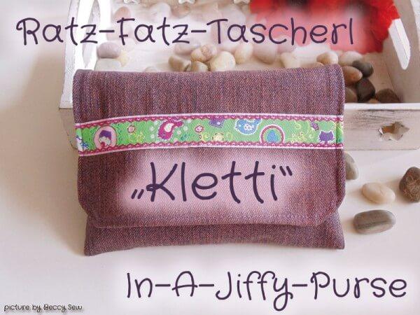 Ratz-Fatz-Tascherl für Krimskrams nähen
