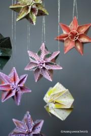 Plissee-Sterne