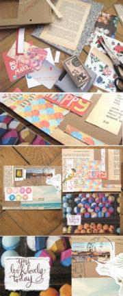 Postkarten selber basteln