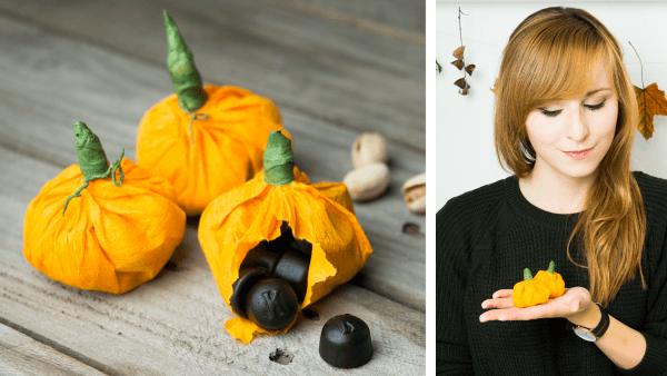 Quick DIY - Halloween Kürbis Goodie Bag