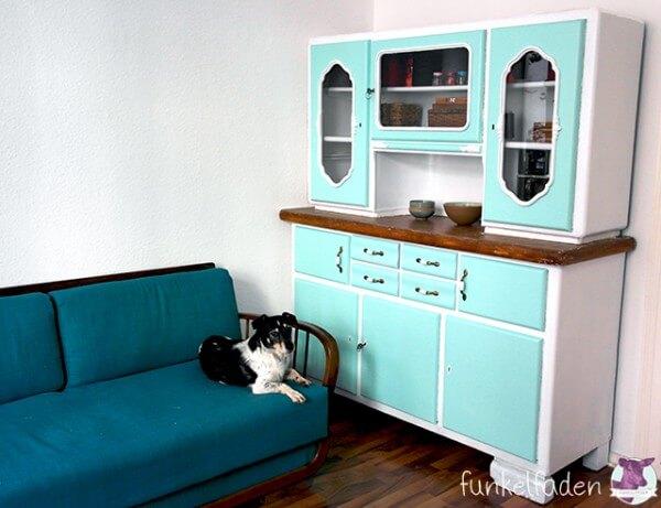 vintage k chenbuffet neu lackieren handmade kultur. Black Bedroom Furniture Sets. Home Design Ideas