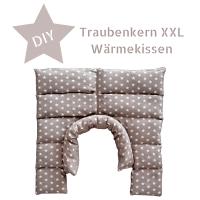 DIY – XXL Wärmekissen mit Traubenkernfüllung