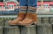 DIY Stiefelstulpen im Ethnostyle