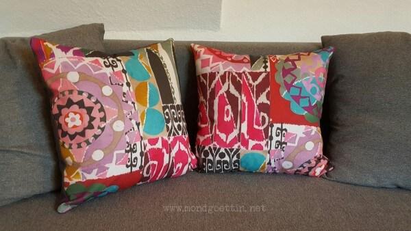 schneller kissenbezug ohne rei verschluss handmade kultur. Black Bedroom Furniture Sets. Home Design Ideas