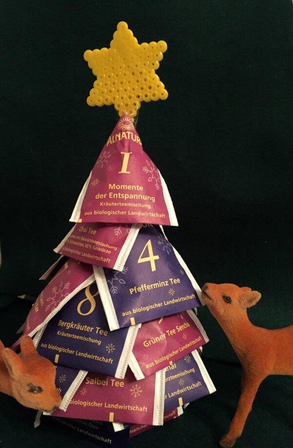 Adventskalender für Teeliebhaber