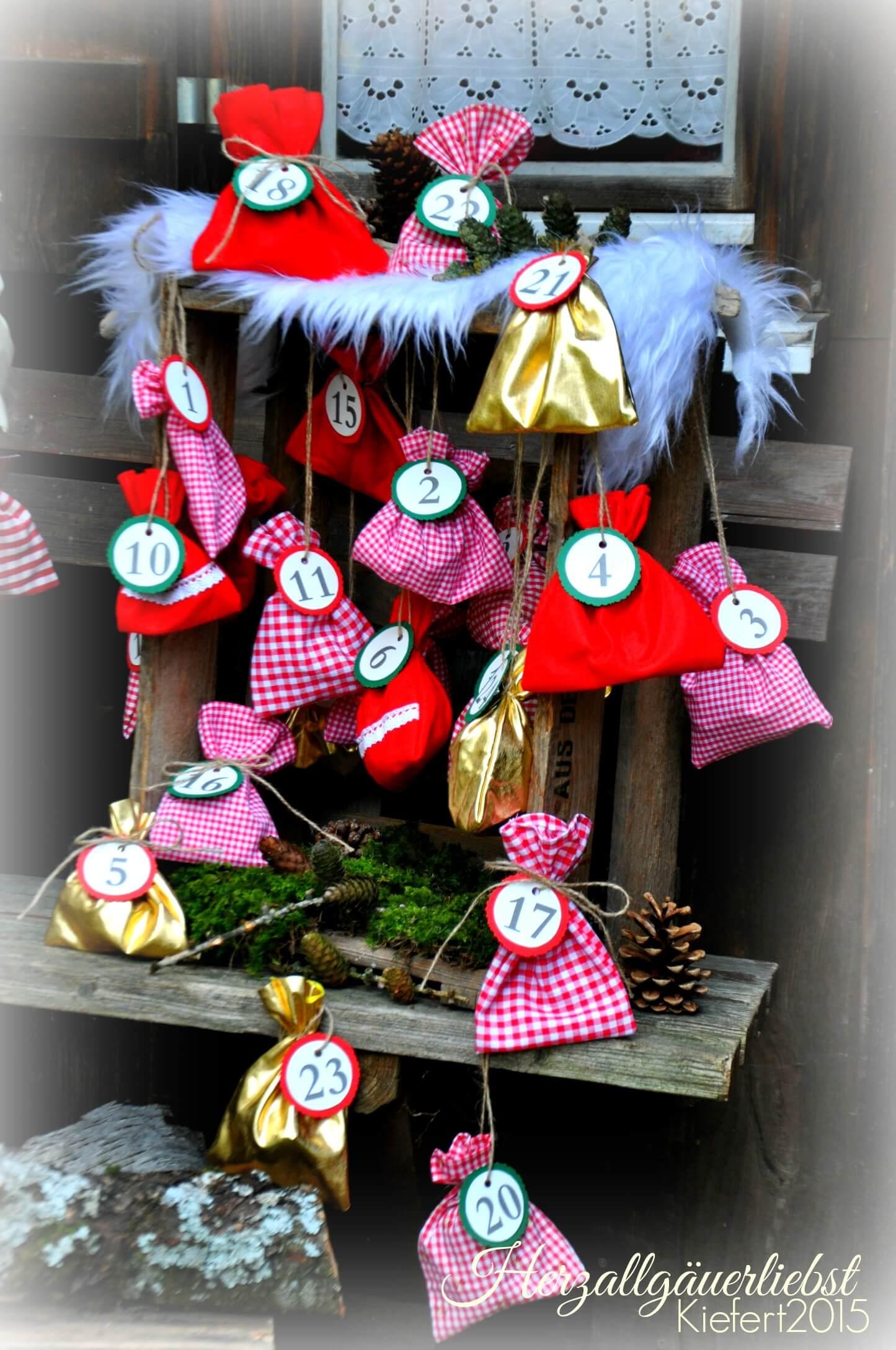 Herzallg uerliebster obstkisten adventskalender handmade for Basteln mit obstkisten