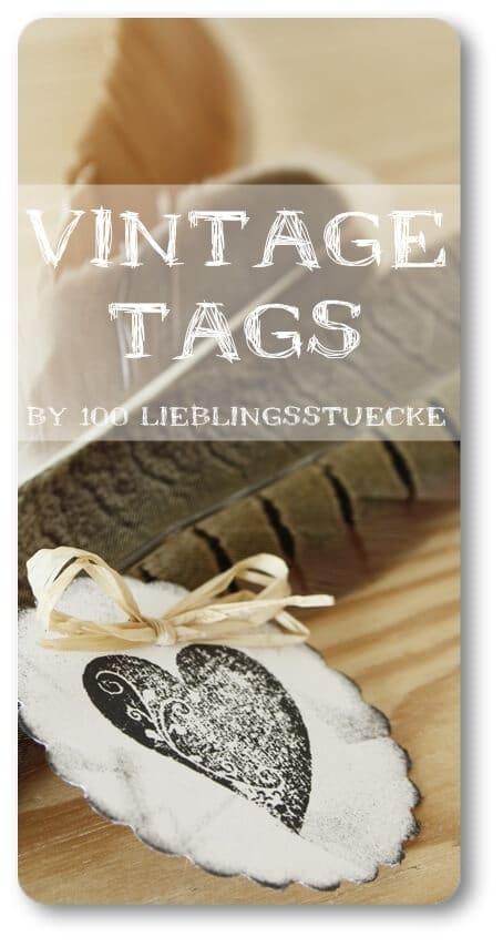 Vintage-Tags {Lieblingsstück}