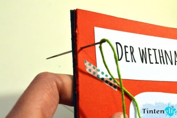 DIY - Adventsgeschichte zum download, Elf nähen und ein Büchlein ...