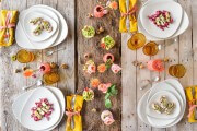 Carpaccio vom Kräuterseitling und Pilz Crostini von den [Foodistas]