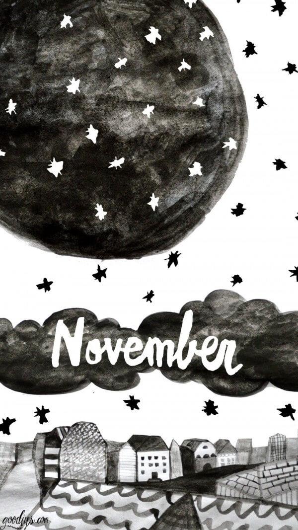 Wallpaper für November