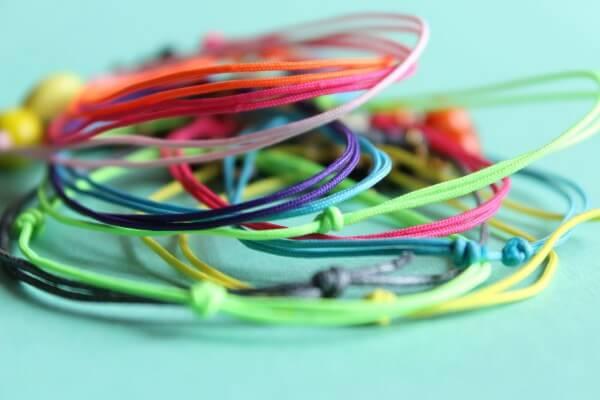DIY – Sliding knot Armbänder
