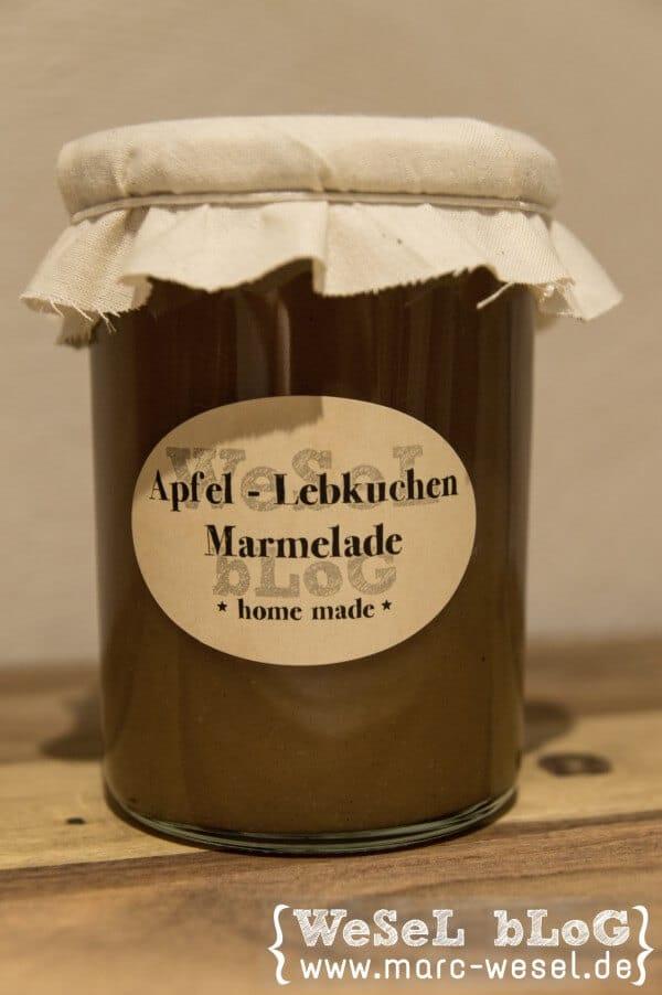 Apfel-Lebkuchen-Marmelade