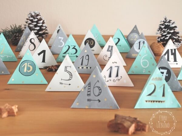 Last minute DIY Adventskalender