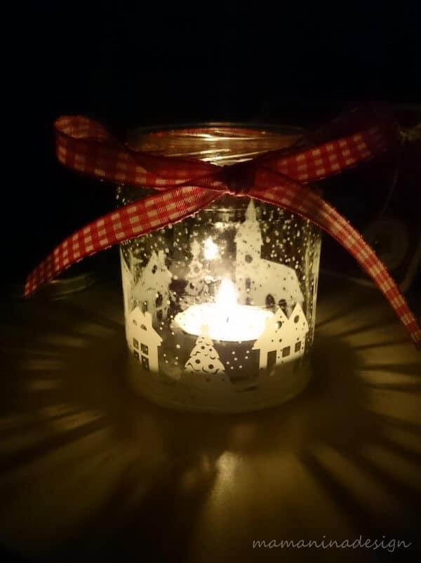 winter windlicht handmade kultur. Black Bedroom Furniture Sets. Home Design Ideas