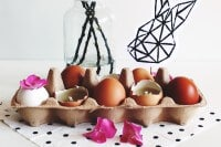 Eierkerzen