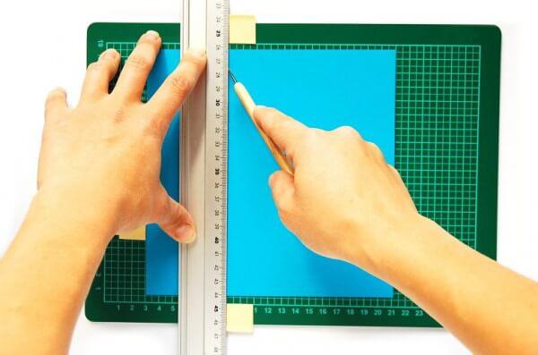 Exakte Linien, sekundenschnell: die DIY-Stopper-Unterlage