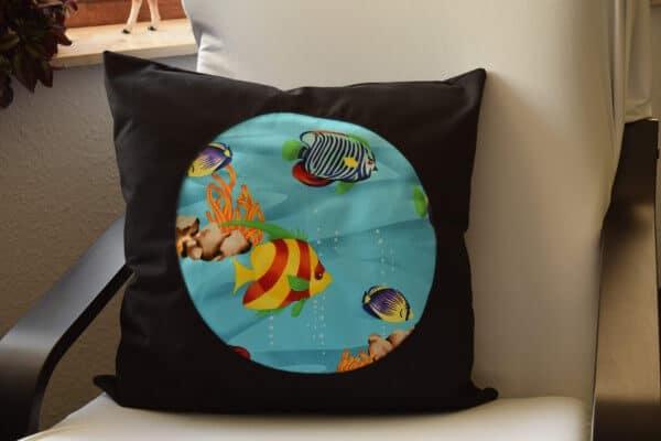 Bullaugen-Kissen - Little Nemo Pillow