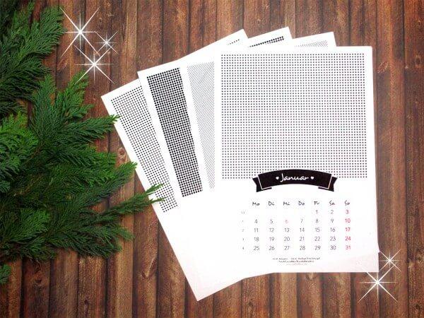 Fotokalender 2016 zum Ausdrucken