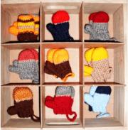 Häkelanleitung Handschuhe/ Fäustlinge