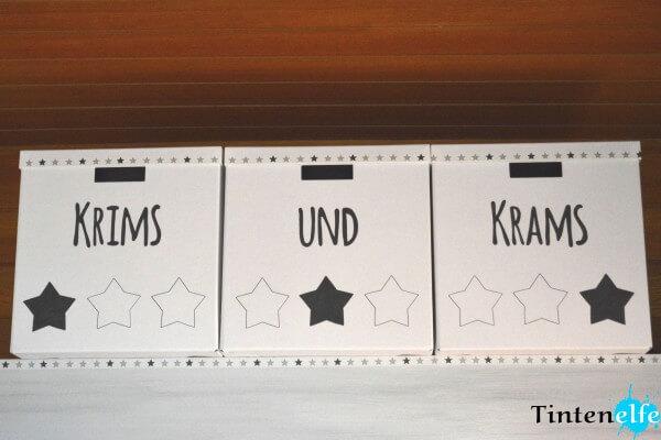 Ikea Kiste Tjena aufhübschen