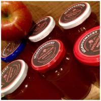 Tee aufs Brot…Apfel-Minz-Gelee