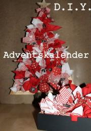 Adventskalender Tannenbaum DIY