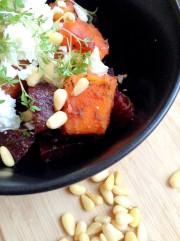 Süßkartoffeln-Rote Beete-Salat