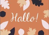 Free Printables: Herbstliche Karten zum selbstdrucken
