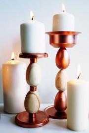 Holzei Kerzenständer