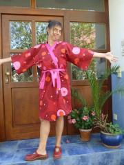Kimono! Kleid! Jacke!