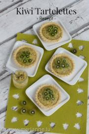 Kiwi-Tartelettes (für's Weihnachtsmenu)