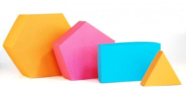 Schachteln mit beliebig vielen Ecken basteln