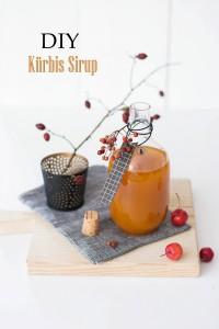 DIY: Kürbis Gewürz Sirup