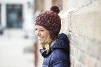 Mütze mit Zick-Zack-Muster