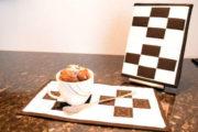 Mug Rug - der Miniminiquilt unter den Miniquilts und der beste Brownie ever!