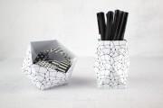 Origami Utensilo + Geo Ball Freebies