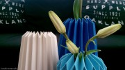Vase in Origami-Style
