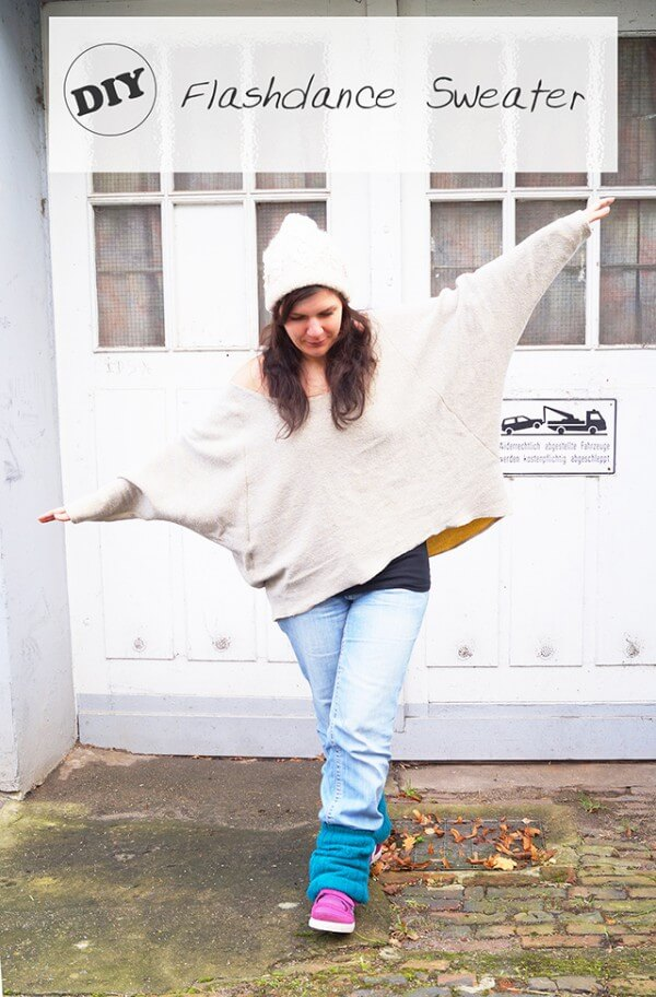 Flashdance sweater