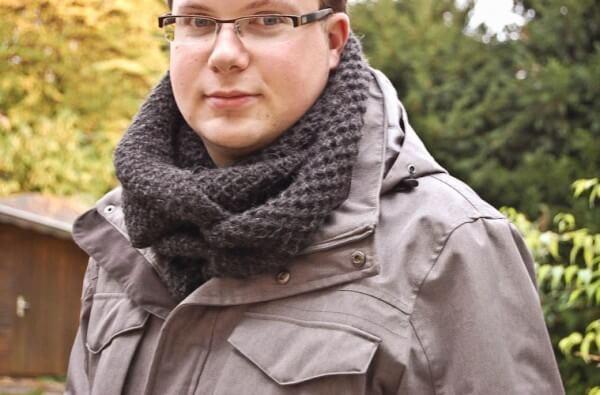 ANLEITUNG: SCHAL STRICKEN FÜR MÄNNER