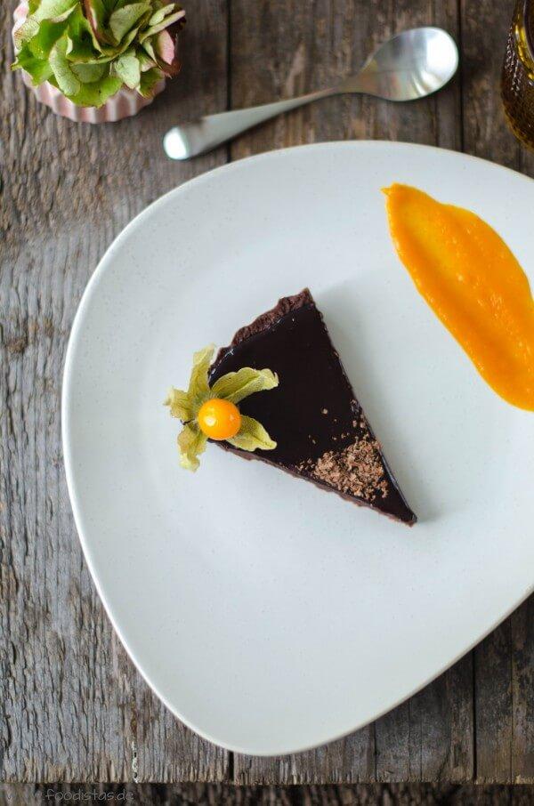 Schokoladen-Kürbis-Tarte von den [Foodistas]