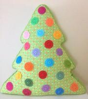 Kissen Tannenbaum Weihnachtsdeko