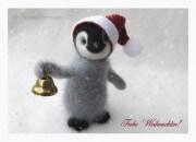 "Postkarte ""Theo"", Weihnachtsedition"