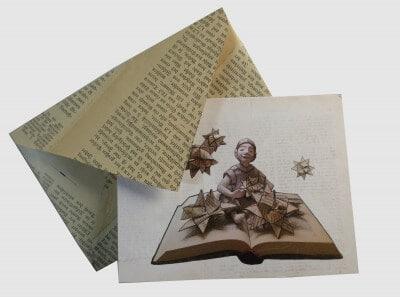 Postkarte-Föbelstern