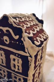 Rezept & Bauplan für ein Lebkuchenhaus