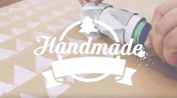 DIY | Geschenkpapier selbst bedrucken & selber basteln | Stempelrollen