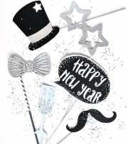Happy New Year - Photo Booth Accessoires