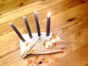 Duftende Weihnachtsdeko für den Adventskranz