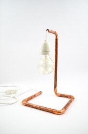 Kupfer-Lampe aus dem Baumarkt